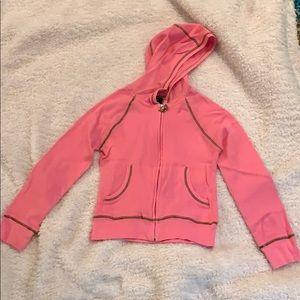 Thermal, zip up hoodie
